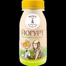 Йогурт питьевой из козьего молока с персиком-грушей 2,8%-6,0% 0,15 кг