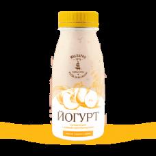 Йогурт питьевой со злаками персик-груша 2,4% 0,25