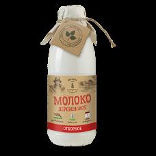 Молоко деревенское пастеризованное 3,4-6,0% 0,9 кг