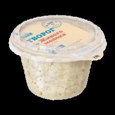 Творог из живого молока 0,18 кг  м.д.ж. 5%