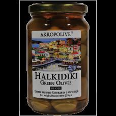 Оливки с косточкой греческие 0,35 кг