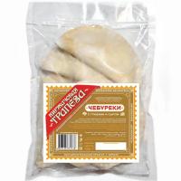 Чебуреки с грибами и сыром 0,5 кг