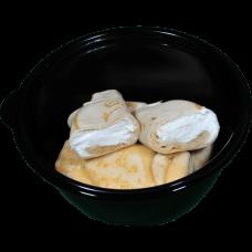 Готовое горячее блюдо блинчики с творогом ручной работы 0,25 кг