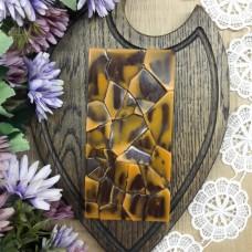 Ремесленный шоколад на меду с апельсином и фундуком 85 грамм
