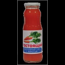 Сок морковный с мякотью 0,25 л