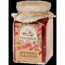 Варенье Столбушинское Томленая Брусника 0,23 л